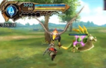 Final Fantasy Explorers Nintendo Direct gameplay
