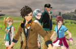 Tales of Zestiria screenshots show off Idolmaster and School DLC costumes