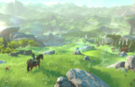 The Legend of Zelda Wii U gameplay footage at The Game Awards
