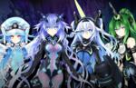 Hyperdimension Neptunia Victory II - CPU Goddess 'NEXT' transformation screenshots & gameplay trailer