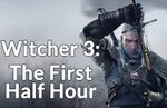 Check out The Witcher 3 footage on PS4
