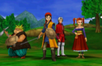 First screenshots for Dragon Quest VIII on Nintendo 3DS