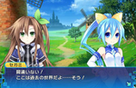 Neptunia's crossover game with Sega Hard Girls will star a dynamic duo