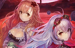 Arnas's Phantom Form in Yoru no Nai Kuni specializes in relentless long-range spells