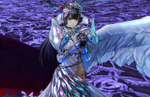 Wield a gigantic arm with Arnas's Armor Form in Yoru no Nai Kuni