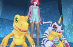 English screenshots and gameplay for Digimon Story: Cyber Sleuth