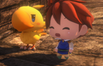 World of Final Fantasy Screenshots introduce Bartz, Terra, Gilgamesh, Bahamut, more