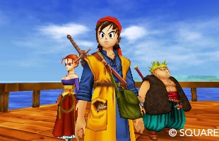 Here are the changes and additions to Dragon Quest VIII on 3DS