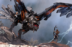 Horizon: Zero Dawn trailers introduce the Thunderbird and Behemoth