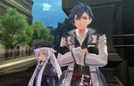 Trails of Cold Steel III screenshots introduce the main cast