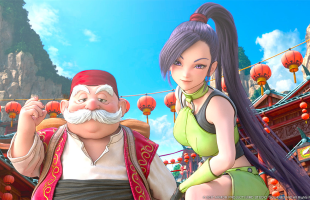 Dragon Quest XI screenshots introduce Martina, Row, and battle system
