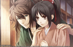 Hakuoki: Kyoto Winds screenshots introduce Sakamoto, Souma, and Iba