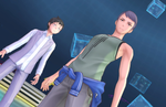 New Digimon Story: Cyber Sleuth Hacker's Memory screenshots introduce hacker factions and Domination Battles