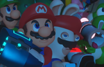 Mario + Rabbids Kingdom Battle - Combat and Co-op trailers