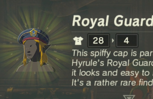 Zelda: Breath of the Wild Royal Guard Armor - completing the EX Royal Guard Rumors quest