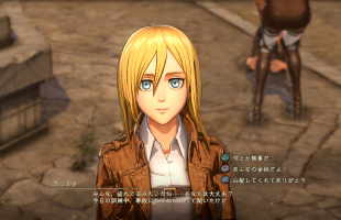 New screenshots for Attack on Titan 2 showcase character creation