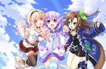 Hyperdimension Neptunia Re;Birth 1 Plus announced for PS4 in Japan