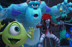 Kingdom Hearts III - Monsters Inc. screenshots and character art