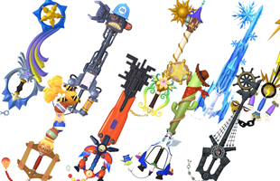 Kingdom Hearts 3 Keyblade Guide: Keyblade list, how to get all keyblades including DLC and craft Ultima Weapon