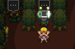 Cadence of Hyrule Lost Woods guide: using the Tingle Dowser to get through the Lost Woods