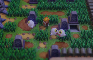 The Legend of Zelda: Link's Awakening - how to find and unlock the Color Dungeon in the Graveyard