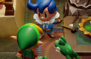 Zelda: Link's Awakening Golden Leaves: using bombs and bananas to find each golden leaf in Kanalet Castle