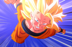 Dragon Ball Z: Kakarot - Majin Vegeta gameplay; Super Saiyan 3 Goku and Air Car & Bipedal Mech Screenshots