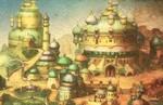 Bravely Default II Walkthrough - Chapter 1 | Savalon, Sandswept Ruins & Bernard's Mansion