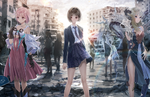 Koei Tecmo announces Blue Reflection: Second Light for PS4, Switch, and PC; Blue Reflection: Sun for mobile & PC