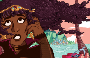 Lesbian road trip RPG Get In The Car, Loser! now available on PC as a free download
