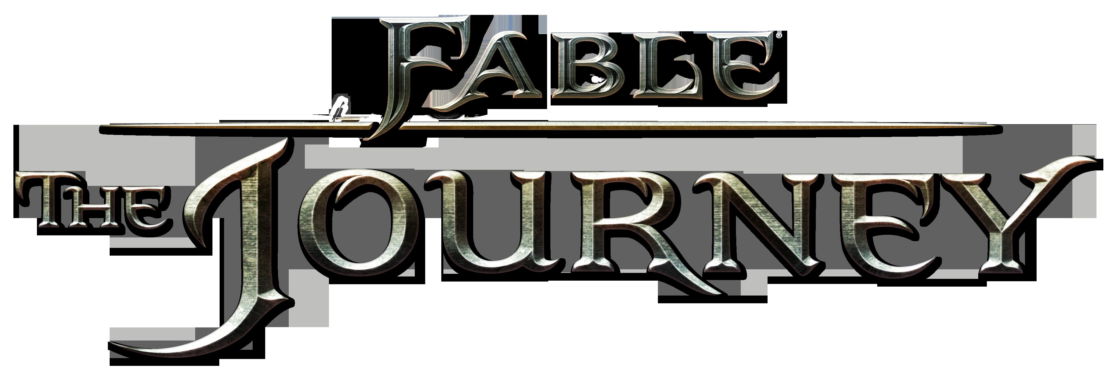 Resultado de imagem para xbox 360 fable the journey logo png