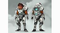 Mass effect 2 character concept art grunt