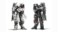 Mass effect 2 character concept art heavymech