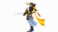 Warrior of light ex render