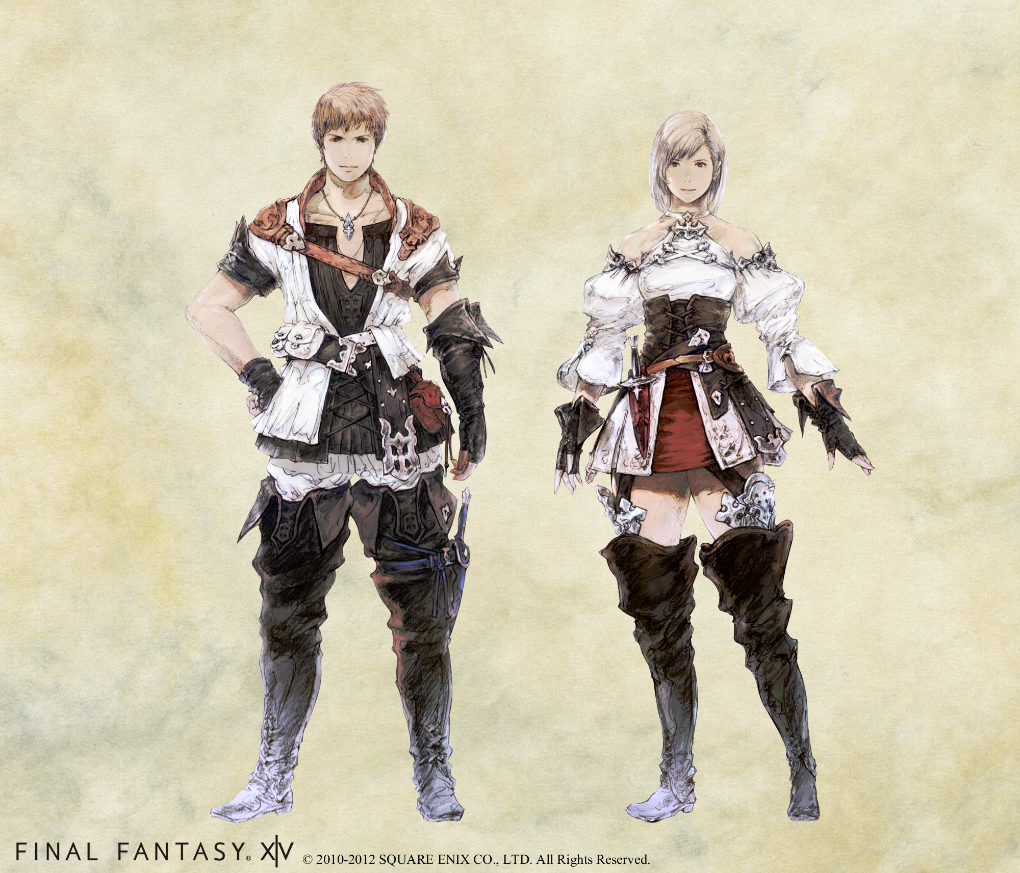 Final Fantasy Concept Art Character