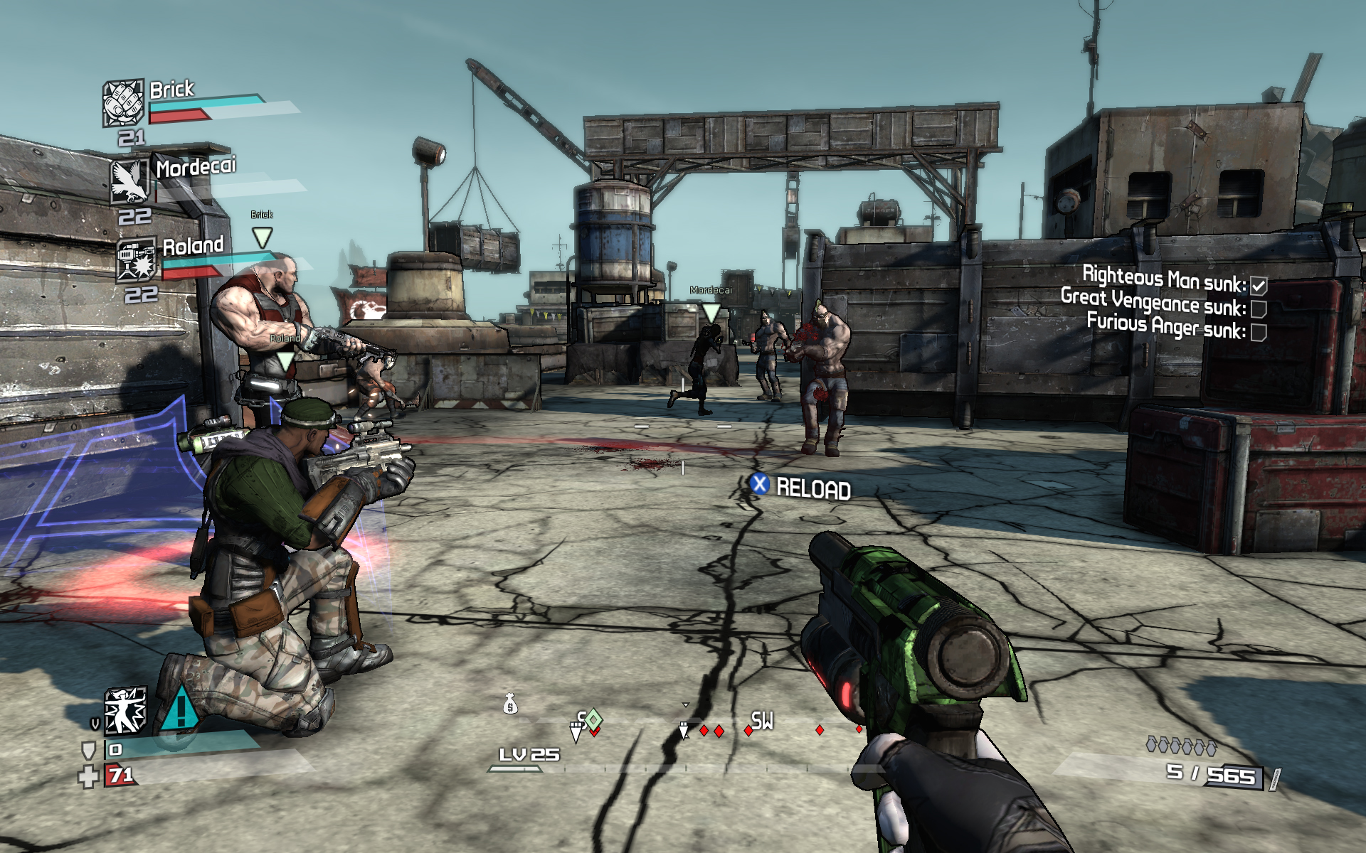 borderlands 1 game of the year edition xbox 360