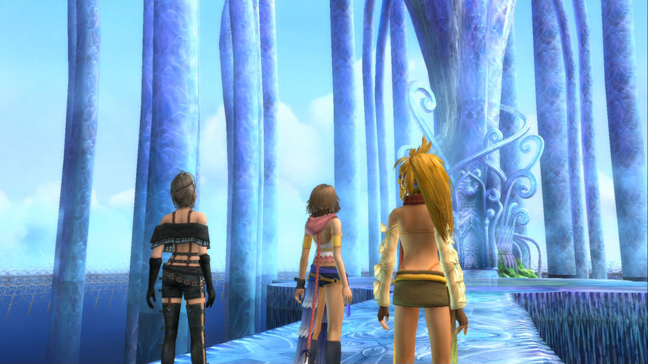final fantasy x 2 hd remaster screenshots rpg site. Black Bedroom Furniture Sets. Home Design Ideas