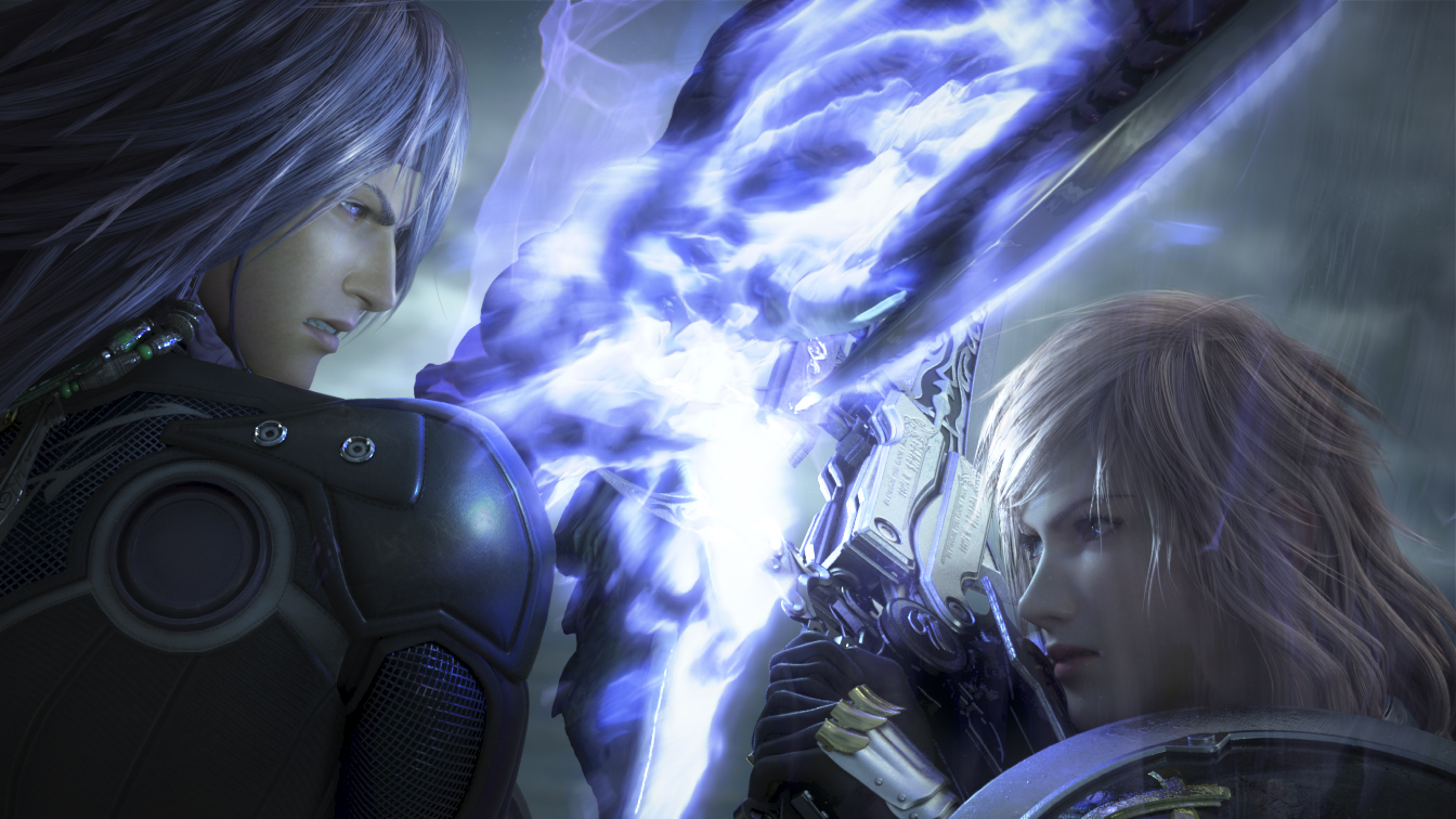 Final Fantasy Xiii 2 The First Three