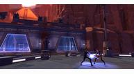 Korriban landing platform lightsaber fight