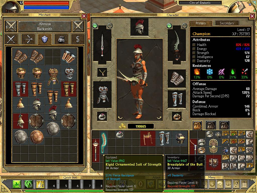 Игры похожие на titan quest