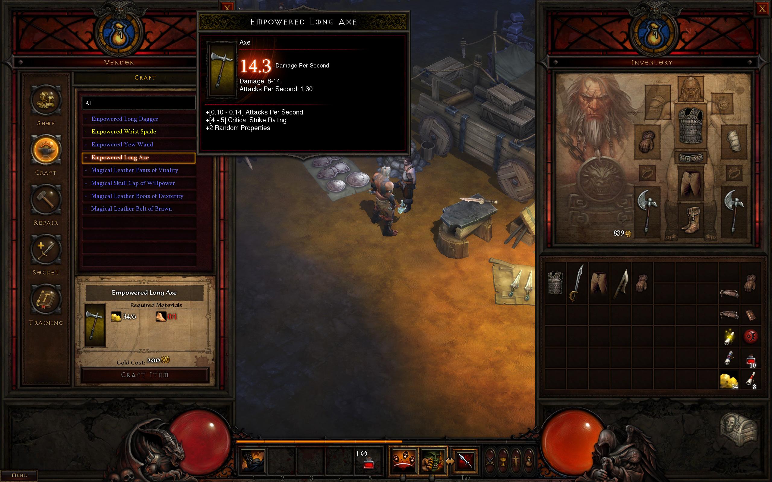 Diablo 3 Hero Slots