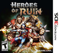 Heroes of ruin ds box