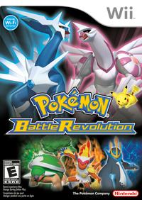 Pokemon battle revolution wii box