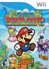 Super paper mario wii box