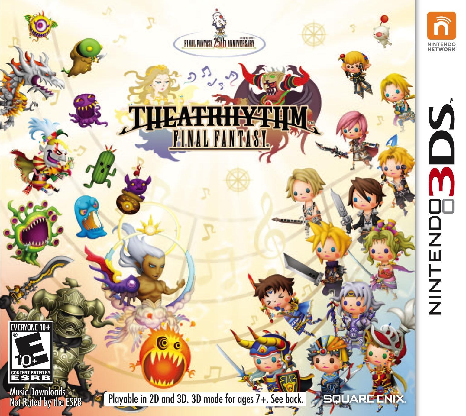 Tff322 Theatrhythm Final Fantasy Box ...