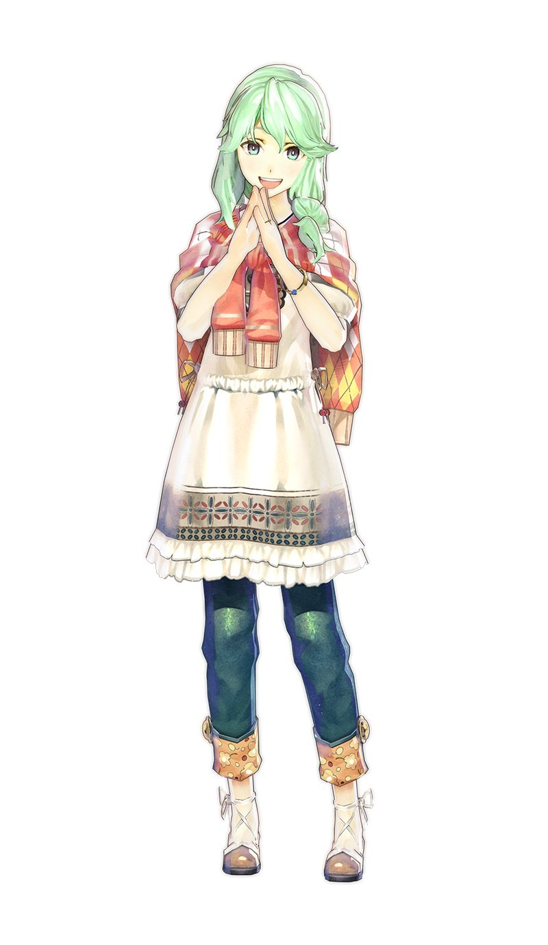 become acquainted with new characters in atelier shallie