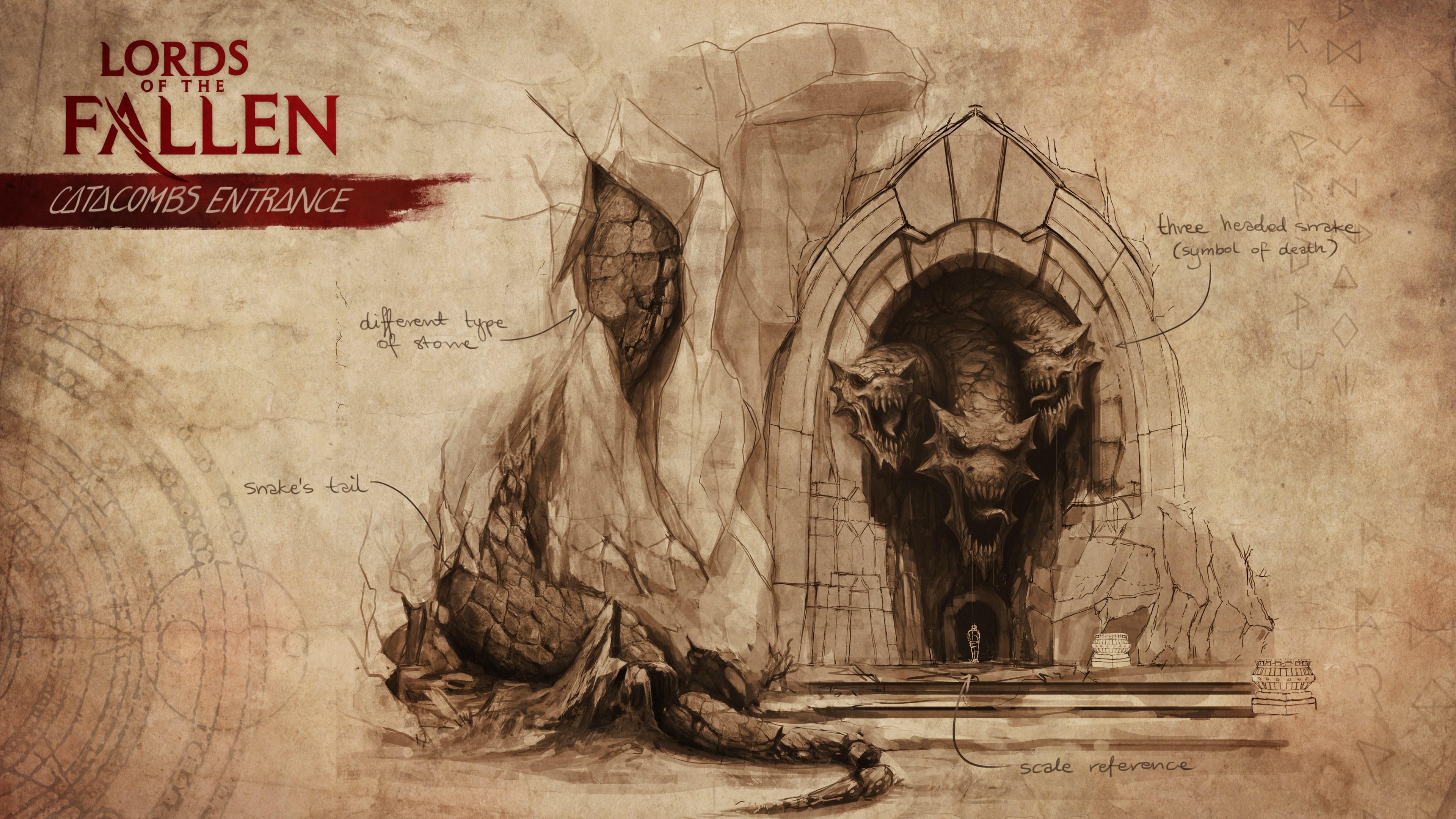 графика lords of the fallen graphics бесплатно