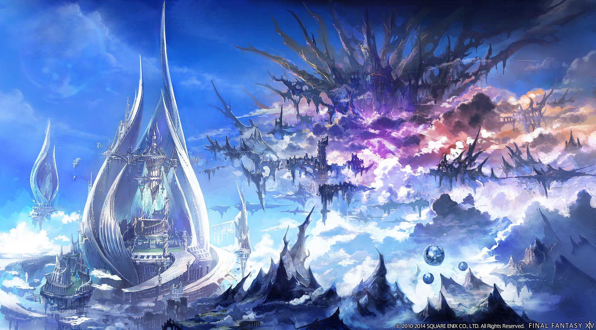 Dark Knight class, flying mounts revealed for Final Fantasy