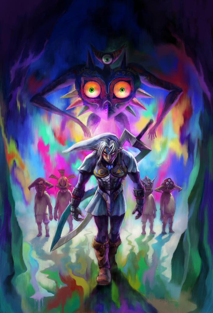 The Legend of Zelda: Majora's Mask 3D releases on February ...