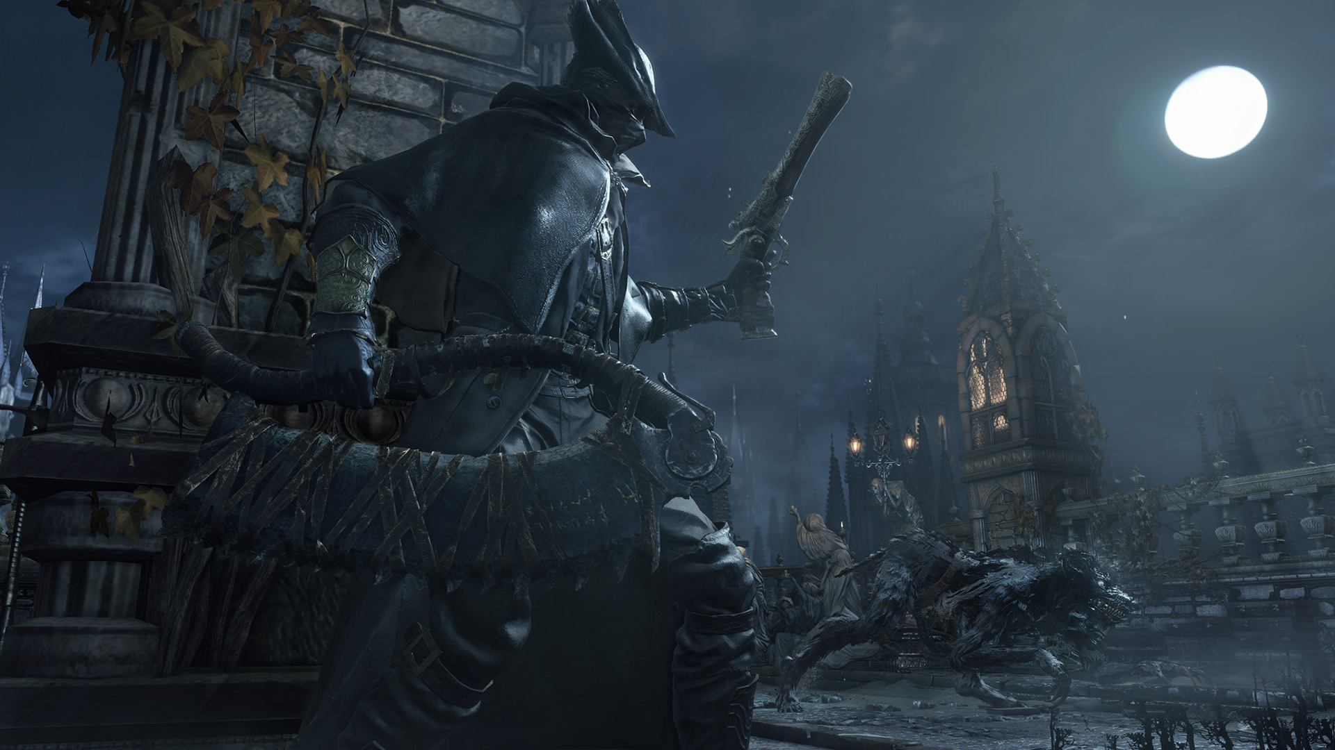 Bloodborne review rpg site for Yharnam architecture
